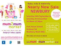 NEWBURY Mum2mum market baby & kids nearly new sale