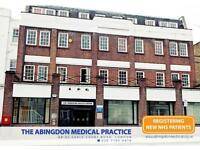 GP RECEPTIONIST - EARLS COURT/ HIGH ST KENSINGTON - F/T