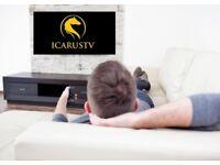 180 U.K./U.S.A. Live TV Channels, 1700 International, Free Movies and TV Shows, Sports Events,