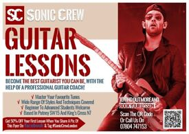GUITAR LESSONS - Putney SW15 - London