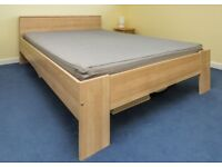 Ikea Aneboda Double Bed And Mattress - With Delivery In Southampton