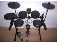 Alesis DM6 USB Electronic Drumset - Snare , Bass Drum , Tom-Toms , Hi-Hat , Cymbals , Bass Pedal.
