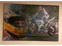 Guy Martin and Michael Dunlop Isle of Man TT Canvas's