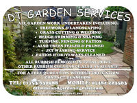DT Garden Maintenance Services 🌲🏡🌲 25+ Years experience
