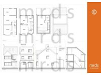Architectural Services - Planning Drawings – Extension/Loft/Garage/Landscape/3d/CAD