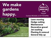 Michelle's Garden Care - Halesowen, Oldbury, Quinton, Stourbridge