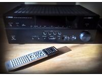 Yamaha RX-V673 7.2 Channel 100 Watt Receiver with Remote Control - boxed