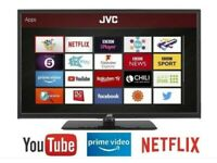 *FREE DELIVERY = BEAUTIFUL 32 JVC SMART TV LED = LIKE NEW STYLISH TELEVISION FREEVIEW