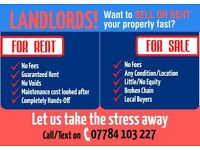 HOUSES WANTED - NO FEES
