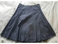 Women's NEXT Charcoal Grey Skirt Size 10