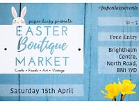 Easter Boutique Market Brighton - Paper Daisy Events
