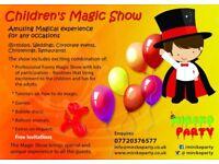 Children's Entertainer / Kids Magician / Games / Balloon Modelling