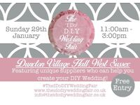 The 'I Do' DIY Wedding Fair @ Duncton Village Hall