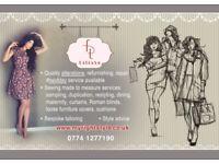 Bespoke tailoring/ Pattern cutting/ Sewing/ Sampling/ Personal fashion Stylist/ Studio Photoshoots