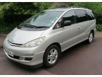 Toyota Previa D4D 2.0 Diesel 7 Seater Genuine 120,440 Miles And Full Toyota Dealer Service History