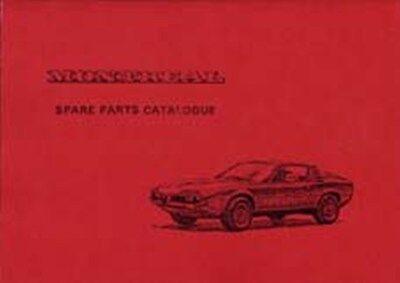 ALFA ROMEO Montreal 1969 parts manual book paper car