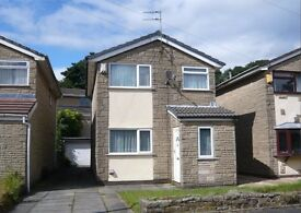 3 Bedroom Detached House with Conservatory and Garage in Shawclough, Rochdale