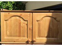 Top box wardrobe cabinet