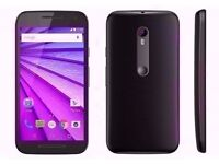 Motorola Moto G 3rd Gen XT1541 Unlocked 8GB 1GB RAM 13MP Black-USED