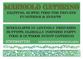 Marigold Catering. East Anglia's #1 for exciting, rustic & global food! Events, Wedding & Parties.