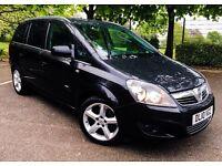 2010 Vauxhall Zafira 1.8 SRI 7 seater FULL VAUXHALL SERVICE HISTORY!!!
