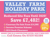*SITE FEE OFFER!* Save £7,482! Holiday Home For Sale Clacton