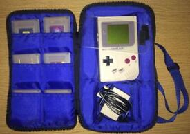 Original DMG-01 GameBoy Console Bundle
