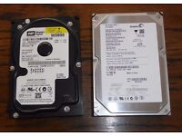 160 Gb and 80 Gb Hard Drives
