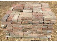 "309x Reclaimed 9x4"" Imperial Bricks Pavers"