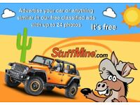 StuffMine - the UK based marketplace with Free Classifieds. Auction & Buy Now 3% FVF