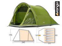 Vango Zeal 500 - 5 Man Camping Tent