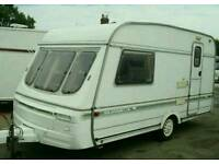 Small 2/3 Birth caravan for rental