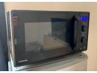 Toshiba 900 w 23 L Microwave Oven with 1050 w Crispy Grill,