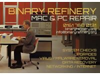 Mac & PC Repair - Manchester Area - Free Estimates - No Fix No Charge