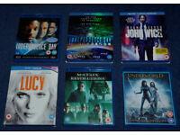 Various Bluray Films