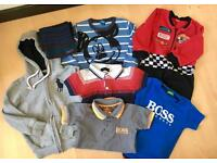Boys Clothing Bundle Ralph Lauren Tommy Hill Hugo Boss Mickey Mouse Cars