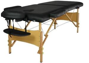 NEW PORTABLE 84 IN MASSAGE TABLE BED PORTABLE MASSAGE BED FOLDABLE ONLY $159.95  MTT2
