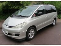 Toyota Previa D4D 2.0 Diesel 7 Seater Genuine 120,300 Miles And Full Toyota Dealer Service History