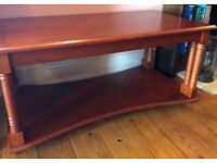 Cherry Wood Coffee Table & Nest Of Tables