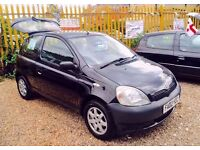 ★ £50 OFF SUNDAY'S ★🌟★ TOYOTA YARIS 1.0 PETROL ★ MOT JULY 2017 ★ CHEAP INSURANCE ★ KWIKI AUTOS ★