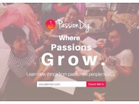 Got a passion? Teach as if you would to a friend and help more people pursue new passions!
