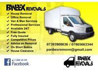 Man & Van Removals Kent UK.