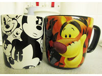 Authentic Official Disney Winnie the Pooh Tigger Mickey Mouse Coffee Mug Mugs