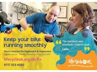 1-day cycle maintenance courses for all abilities