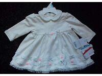 NEW dresses for baby girl.