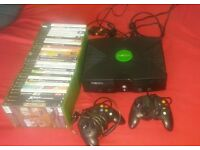 xbox with 29 games for sale