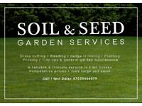 Friendly & reliable garden services at competitive prices