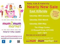 Mum2mum Nearly New Market - East Kilbride, 25th March