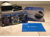 PlayStation VR With 3 Free Games