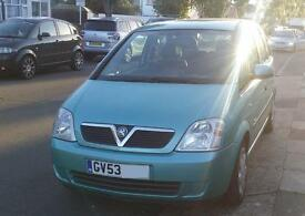 Vauxhall Meriva (2004) Enjoy, 1.6L 16V, 5dr, Petrol, Manual, Low 70k mileage, London, N9 (£650)